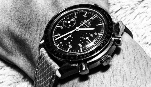 オメガのスピードマスターは営業マンの万能高級時計