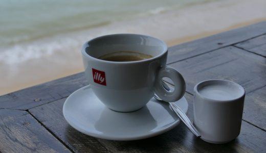 ホットコーヒーの飲み過ぎで営業マンが体調不良(熱中症)になる